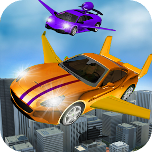 Flying Car City Transporting for PC and MAC