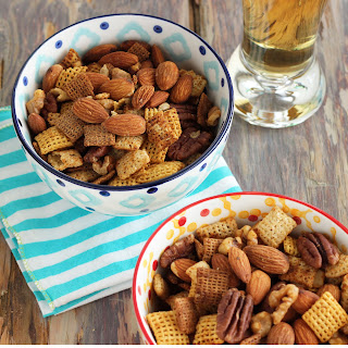 Nutty Tex Mex Chex Snack {Recipe ReDux}.