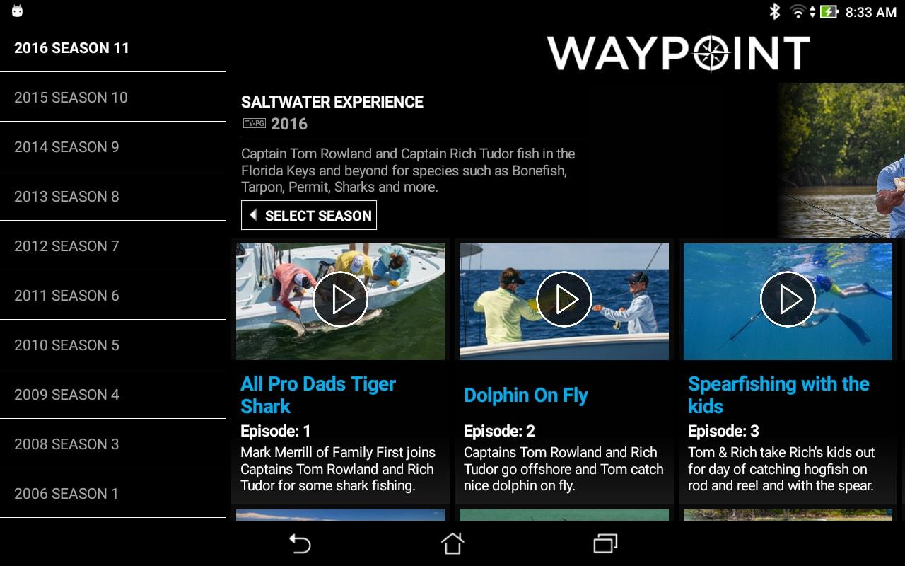 Waypoint TV- screenshot