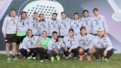 Photo: Selección de #pádel de Andalucía