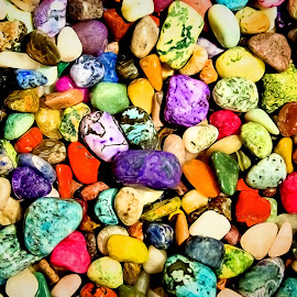 Polished Stones by Dave Lipchen - Nature Up Close Rock & Stone ( polished stones )
