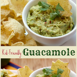 Kid-Friendly Guacamole.