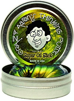 Crazy Aaron's Thinking Putty Super Illusions Oil Slick Tin