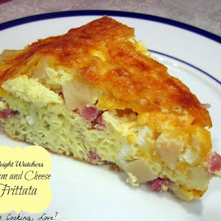 Weight Watchers Ham and Cheese Frittata.