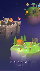 Poly Star : Prince story Mod Apk Download For Android and Iphone 3