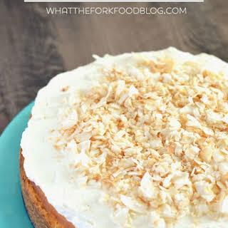 Coconut Cheesecake.