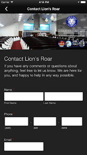 Lion's Roar Church Audio - náhled