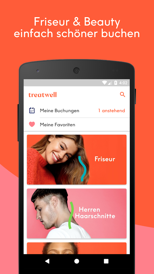Treatwell – Screenshot