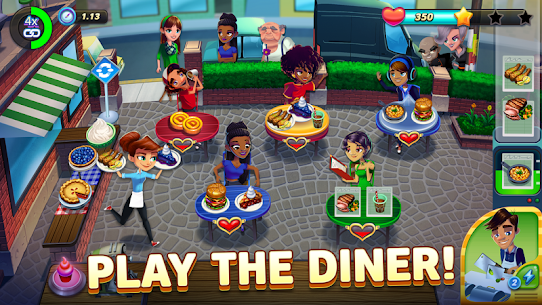 Diner DASH Adventures MOD APK (Unlimited Coins) 2