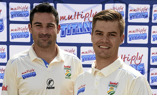 Opening gambit: Dean Elgar, left, and Aiden Markram will be SA's new opening pair against Bangladesh. Picture: GALLO IMAGES