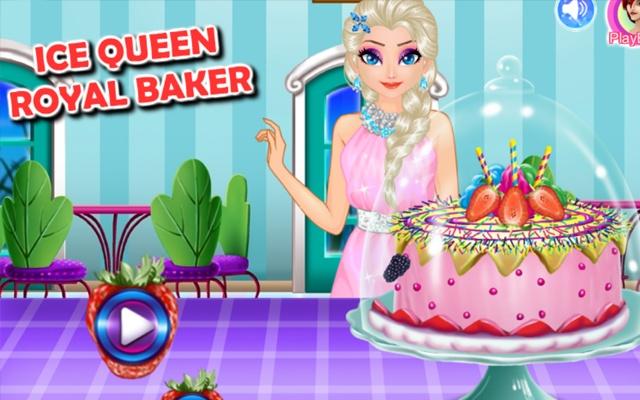 Ice Queen Royal Baker Game