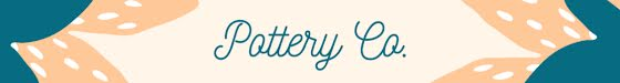 Pottery Co. - Etsy Shop Mini Banner Template