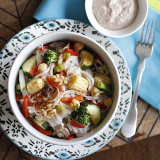 Vegan and Gluten-Free Simple Walnut Butter Pad Thai