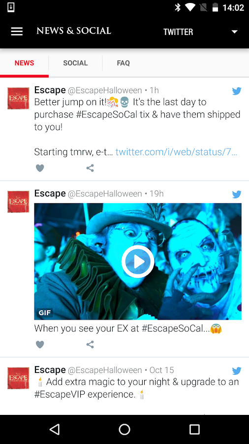 Escape: Psycho Circus 2016- screenshot