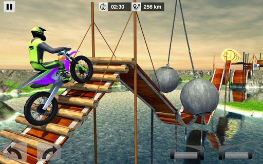 Bike Stunt Mega Tracks: Sky Ramp 1.0 screenshots 7