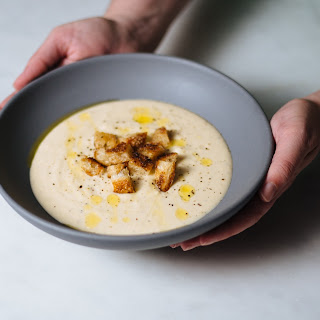 Creamy Potato Leek Soup.