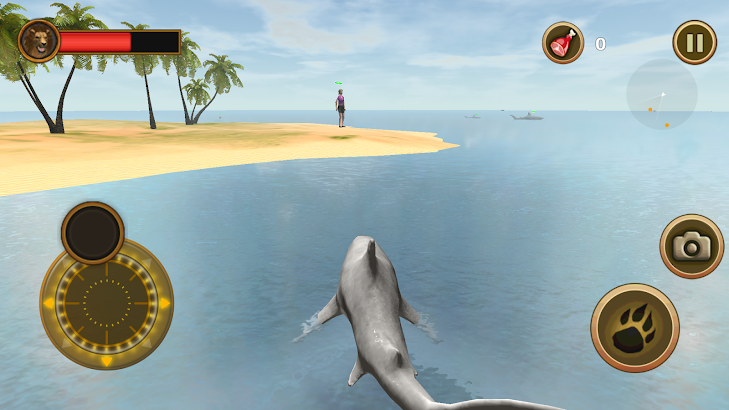 Deadly Shark Attack- screenshot thumbnail