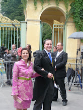 Photo: Prince Johann Georg and Princess Stefanie zu Ysenburg and Büdingen in Wächtersbach
