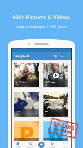 Gallery Vault – Hide Pictures Pro v3.0.12 + Key (Patched)