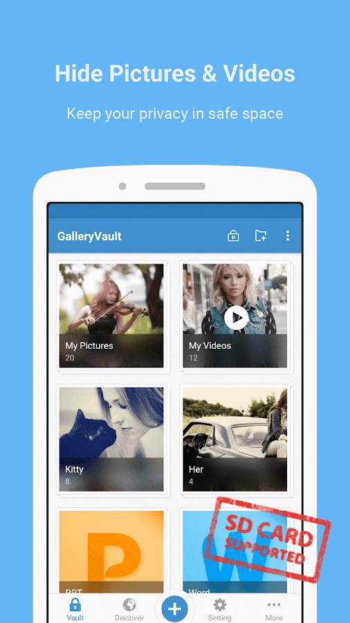 Gallery Vault - Hide Pictures- screenshot