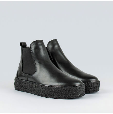 Sneaky Steve Shallow 2 leather shoe black