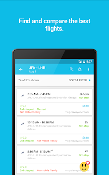 Skyscanner APK screenshot thumbnail 12