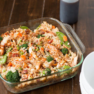 Chicken Rice Peas Carrots Casserole Recipes