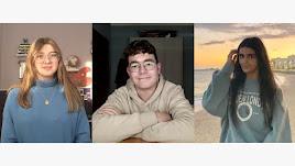 Los tres estudiantes almerienses becados por la Fundación Eduarda Justo