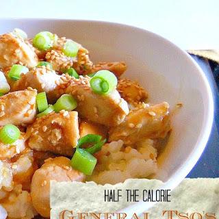 Half The Calorie General Tso's Chicken