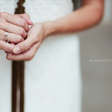 Wedding photographer Rada Zotova (rada). Photo of 28.11.2012