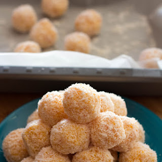 Apricot and Coconut Balls.