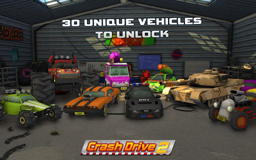 Crash Drive 2: 3D racing cars 3.55 screenshots 2