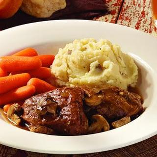 Mushroom Braised Pot Roast