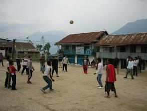 Photo: Num Village square