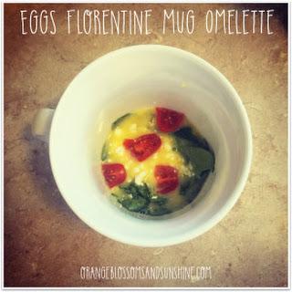 Eggs Florentine Mug Omelette