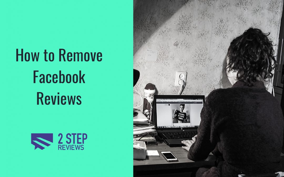 how to remove facebook reviews