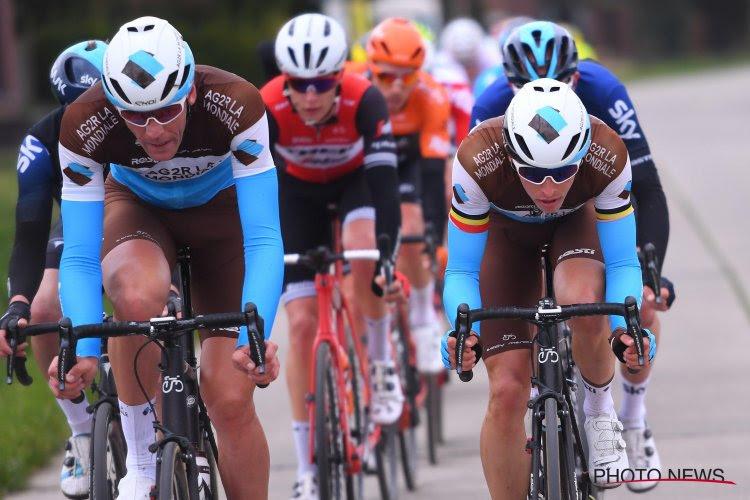 Jour de repos et nouveaux contrats: six coureurs, dont un Belge, prolongés par AG2R