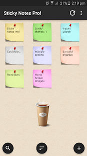 Sticky Notes Pro !- screenshot thumbnail