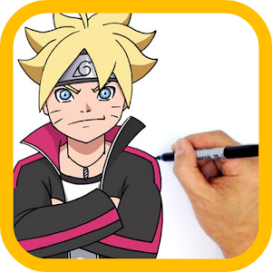 How To Drawing Boruto