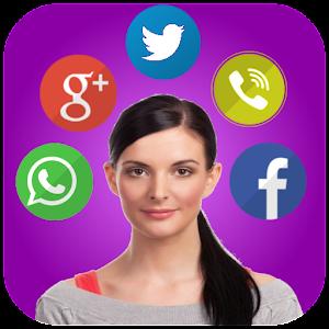 Talking Notification Girl -Pro 1.63 Icon