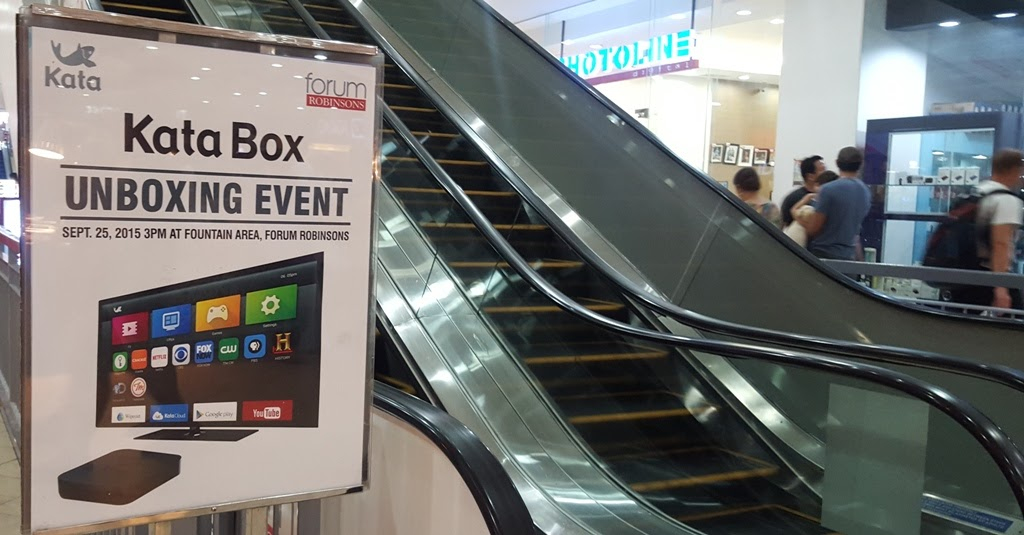 KATA BOX UNBOXING EVENT AT FORUM ROBINSONS