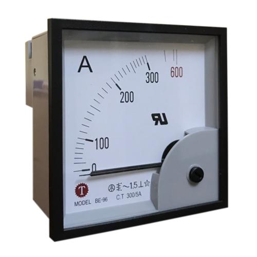 Đồng hồ đo dòng điện (Ampe kế) BE-96 300/5A Taiwan Meter