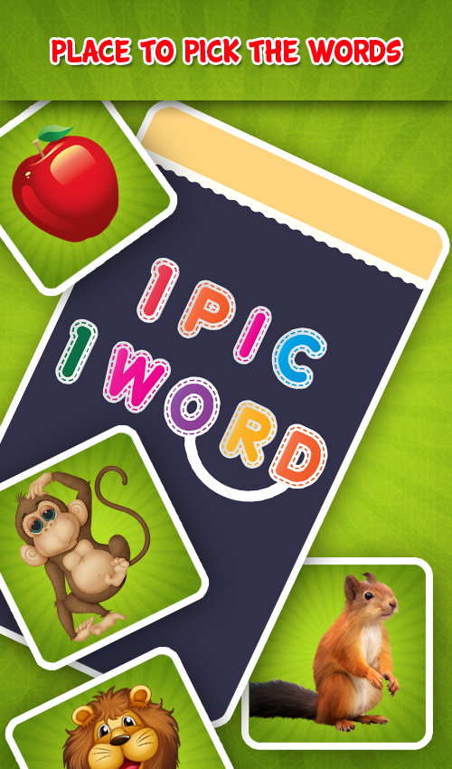 1 Pic 1 Word -  Picture to Word  Game Offline Free- screenshot