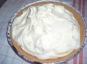 No Bake Lemon Pie