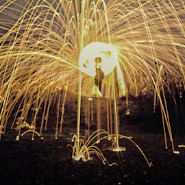 by Mike Ross - Abstract Fire & Fireworks