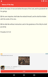 Holy Bible Free- screenshot thumbnail
