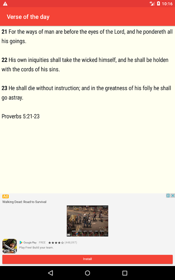 Holy Bible Free- screenshot