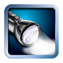 Super bright LED flashlight icon