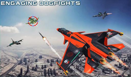 US Air Force Military Pilot Sky Battle 3D filehippodl screenshot 12