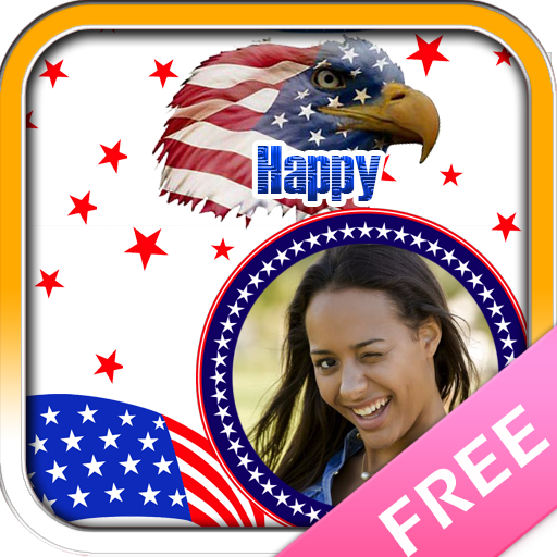 Independence day photo frames 攝影 LOGO-玩APPs